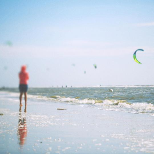 Norderneys White Sands Festival feiern