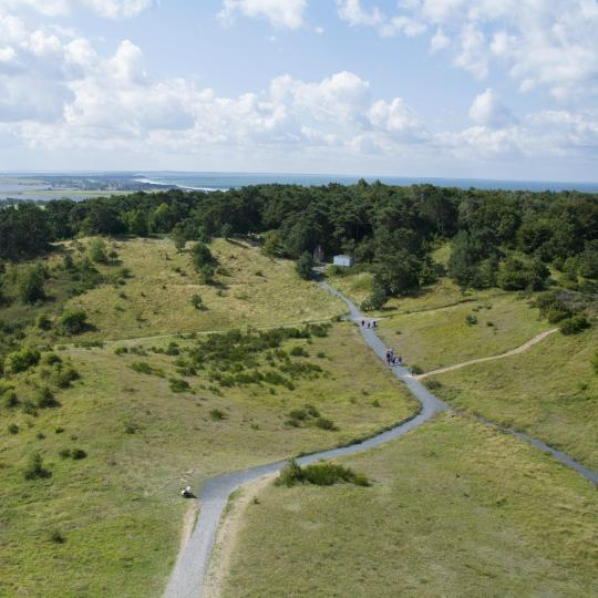Cycle the countryside on Hiddensee Island