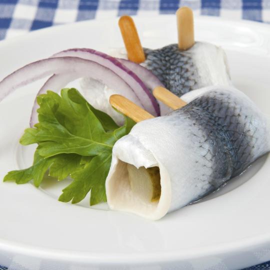 Try herring pralines at Restaurant Stellwerk