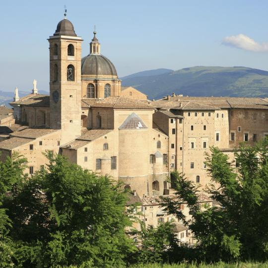 Cultural and artistic masterpieces in Urbino