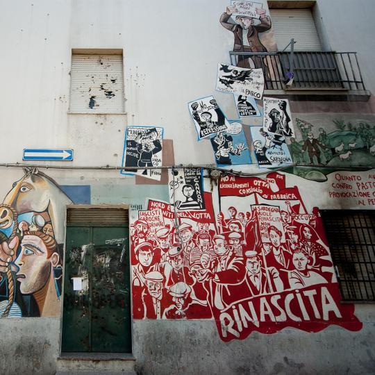 Operele murale din Orgosolo Murals