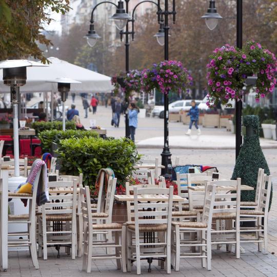 Sofia's vibrant city life