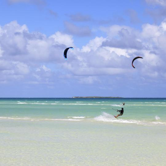 Kitesurfing in Chałupy