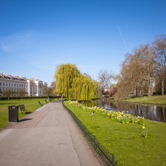 London's sprawling parks