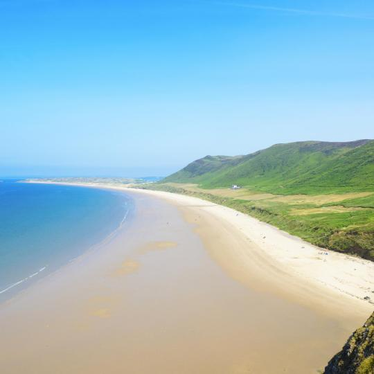 Relaxation on Wales' award-winning beaches