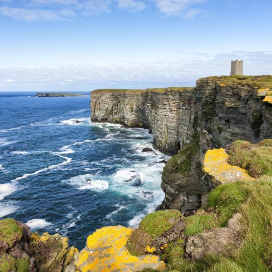 John O'Groats dramatic landscape