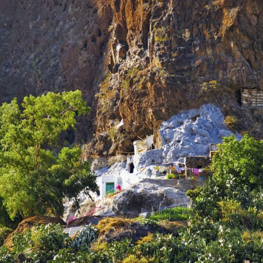 Restaurantes cueva del Barranco de Guayadeque