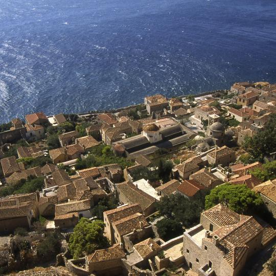 Medieval Fortress Town of Monemvasia