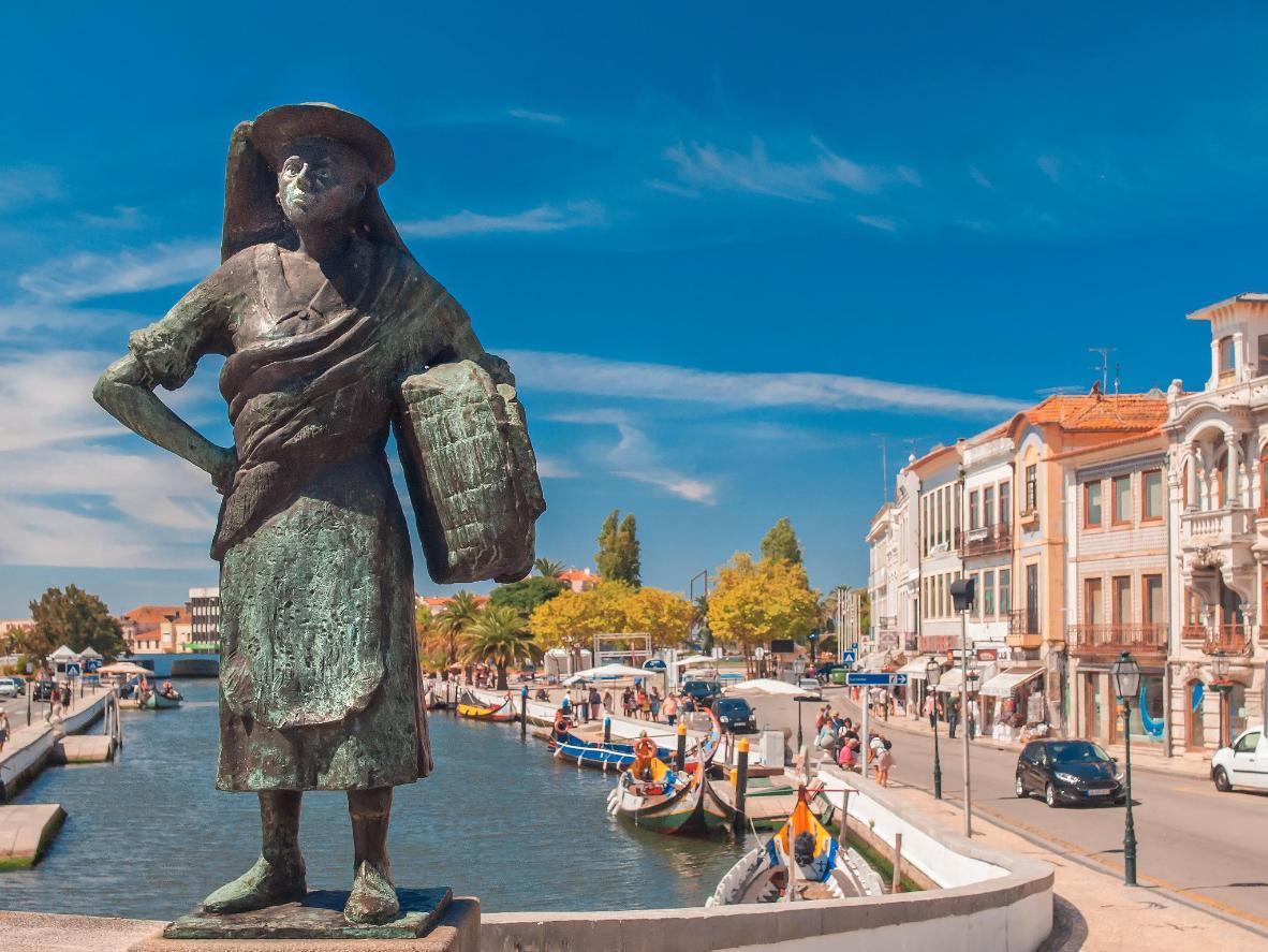 Aveiro, a romantically pretty seaside town