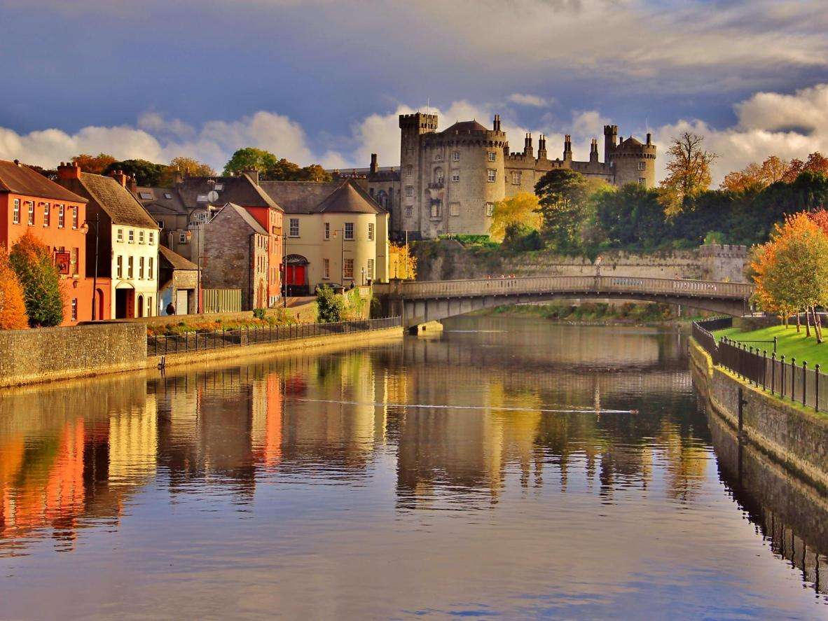 A pint of Kilkenny cream ale is the perfect way to finish a day of taking the city's medevial highlights
