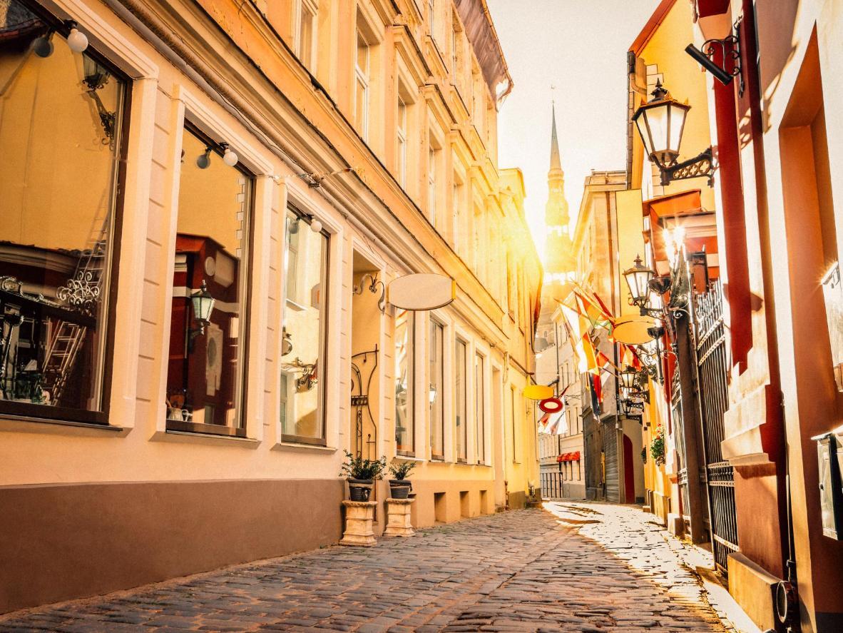 Riga, capital of Latvia