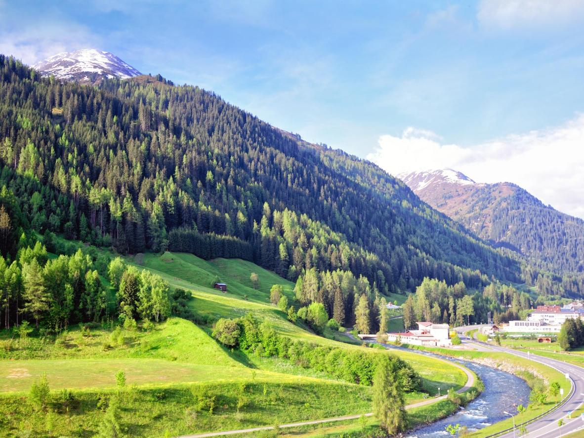 St. Anton is one of Austria's foremost ski resorts