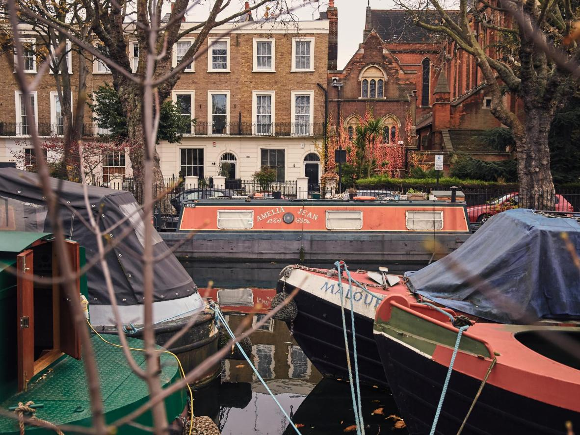 Little Venice is one of London's most picturesque neighborhoods and it's a great place for peaceful weekend walks.