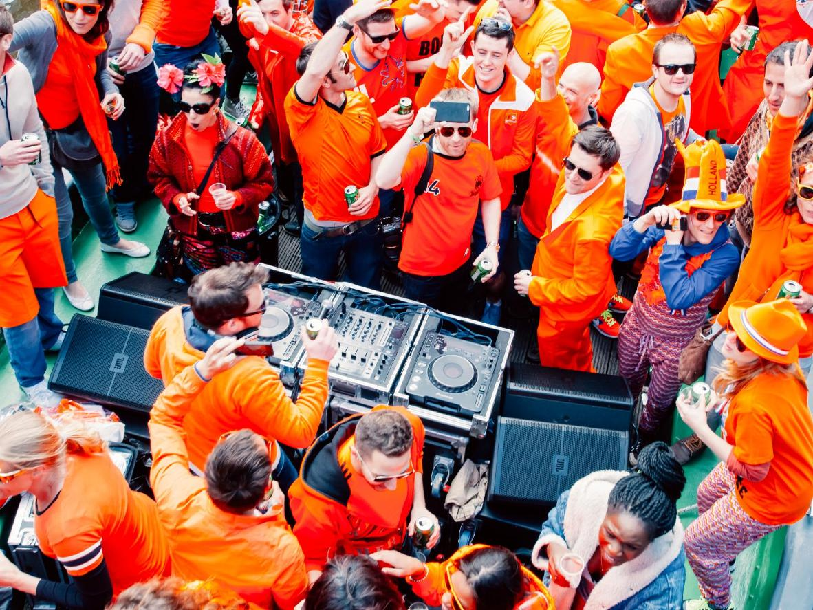 Eindhoven hosts a variety of parties for King's Day