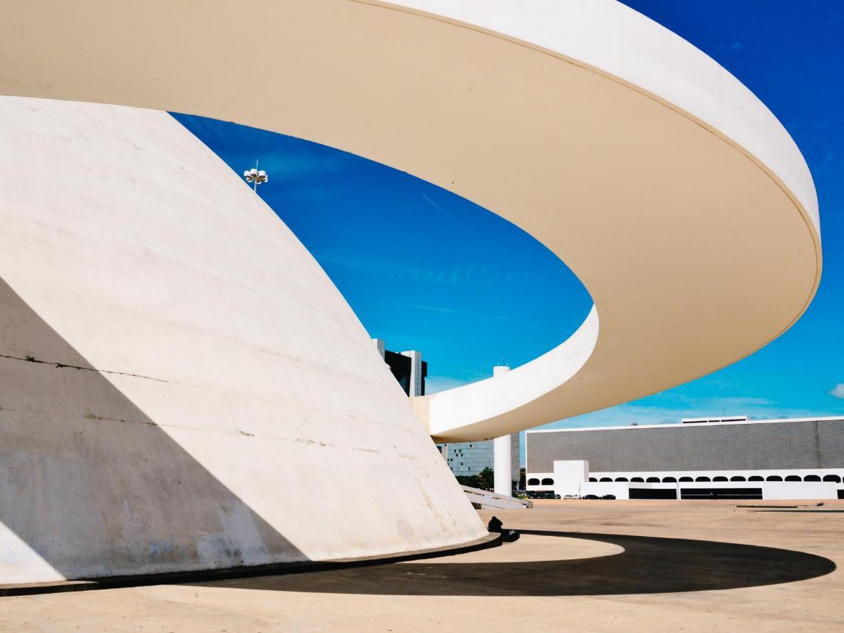 Le architetture essenziali di  Brasilia