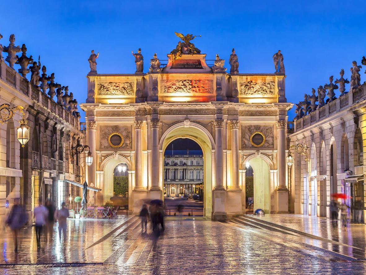 Place Stanislas by night
