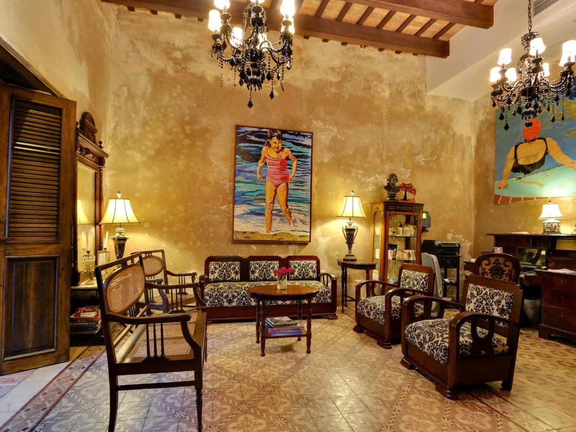 Das restaurierte Villa Herencia Hotel