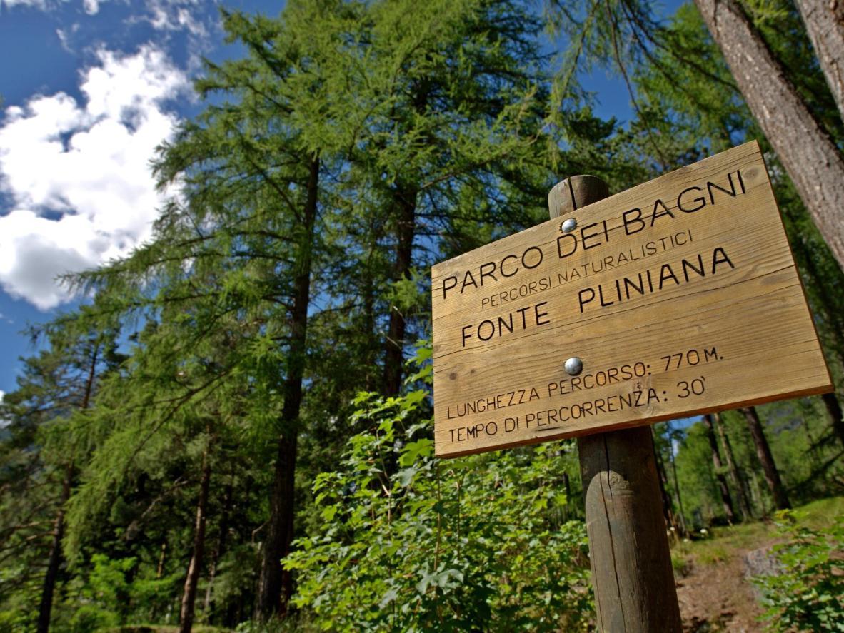 A pochi passi dai Bagni Nuovi trovi la Fonte Pliniana, una delle nove fonti termali nella zona di Bormio