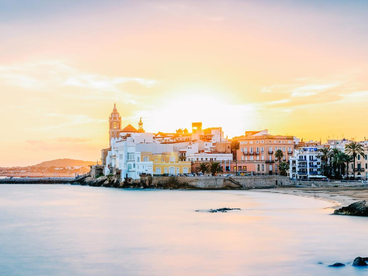 Sitges, the coastal town with 17 beaches to choose from