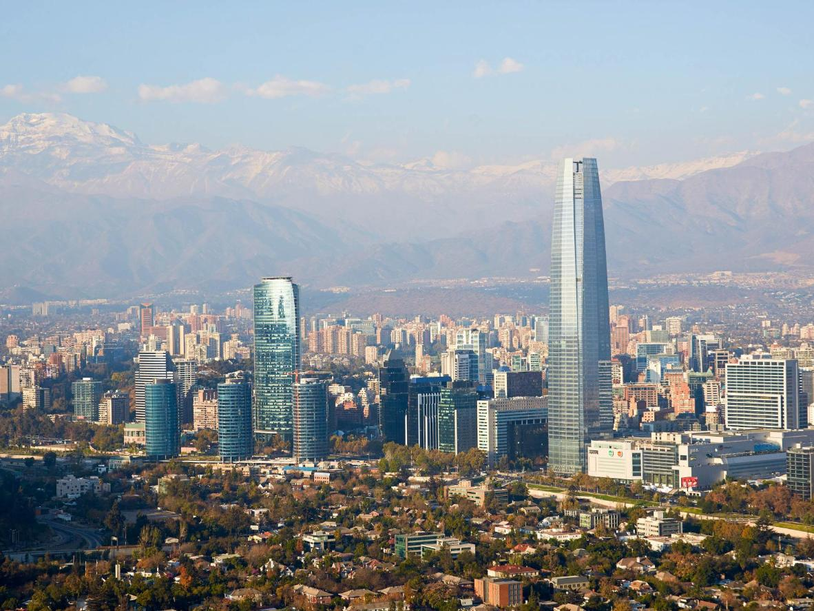 Middle-Eastern-inspired cuisine in Santiago
