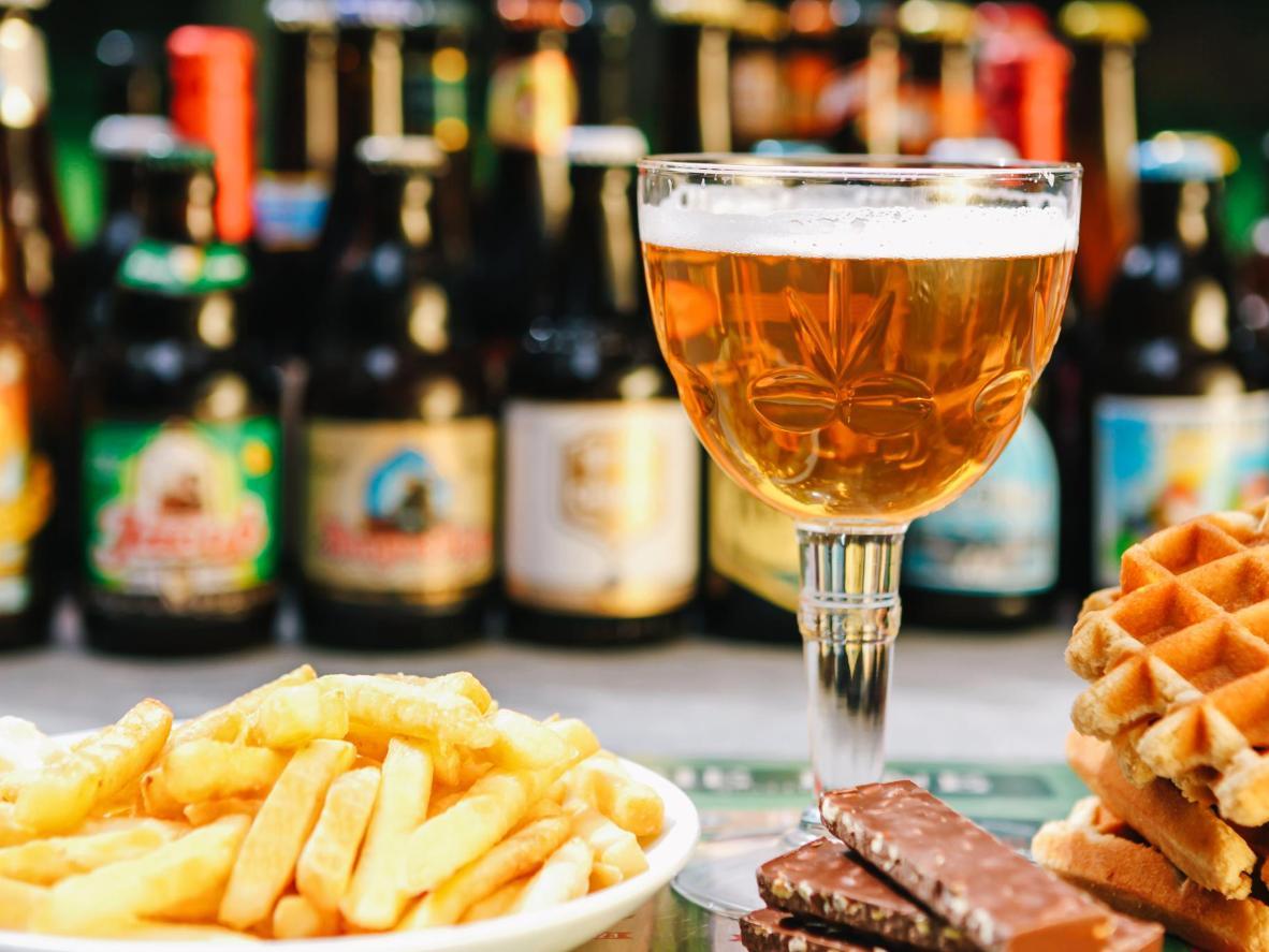 Благодаря старинным традициям пивоварения бельгийское пиво получило признание по всему миру