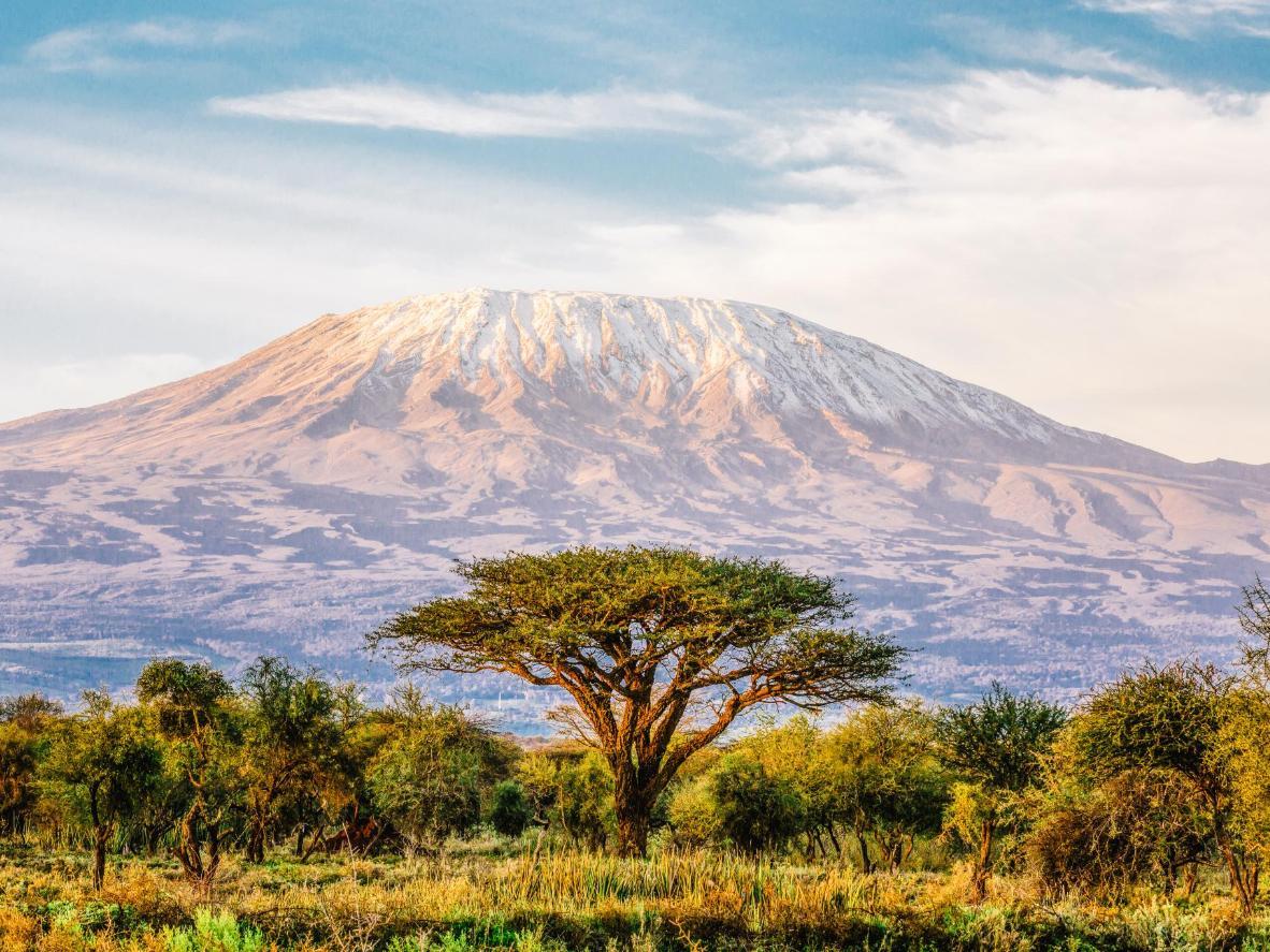 Kilimanjaro menawarkan pendakian yang ideal untuk mereka yang baru berjinak-jinak dalam aktiviti ini