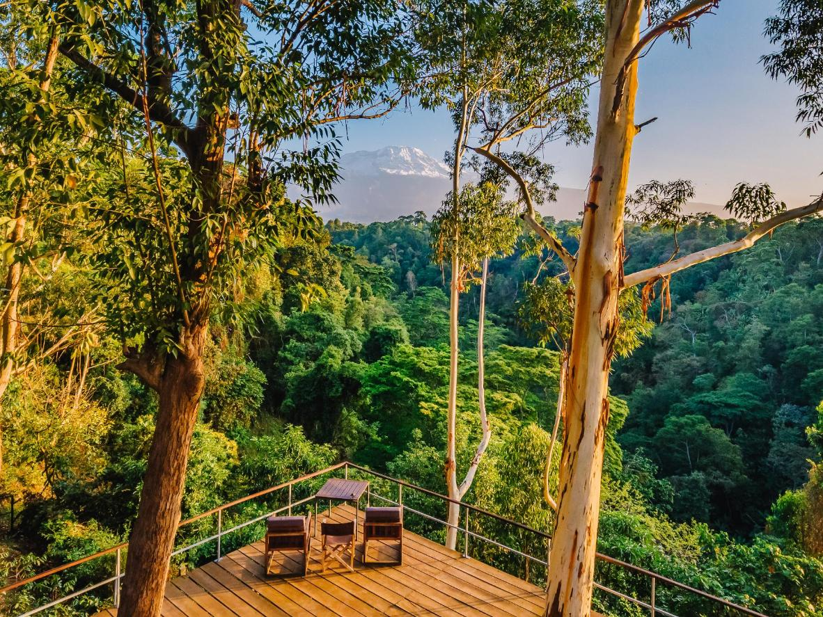 Don't miss Kaliwa Lodge's balcony lounging.