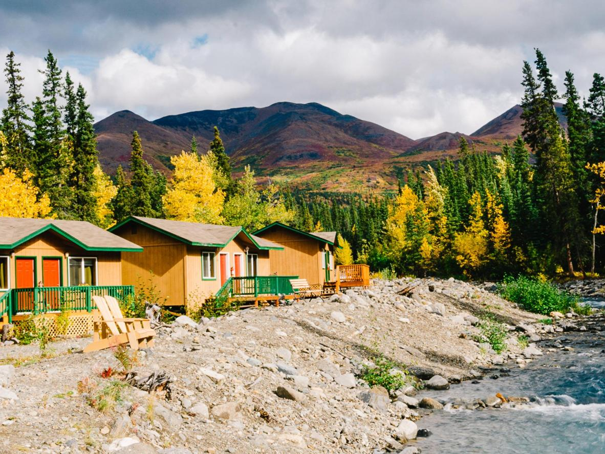McKinley Creekside Cabins are a short drive from Denali National Park.