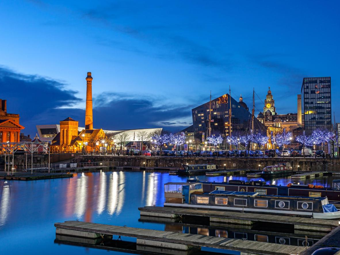 Winter in Liverpool is much warmer than the rest of the UK