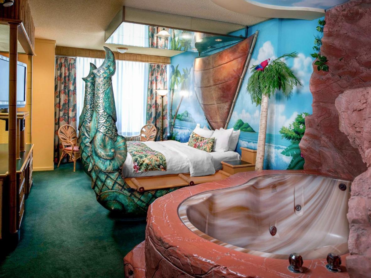 The Fantasyland Hotel in Alberta