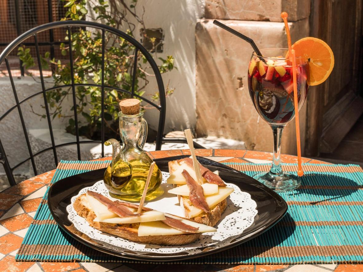 Extra virgin olive oil is the stand-out ingredient in Jaén's tapas