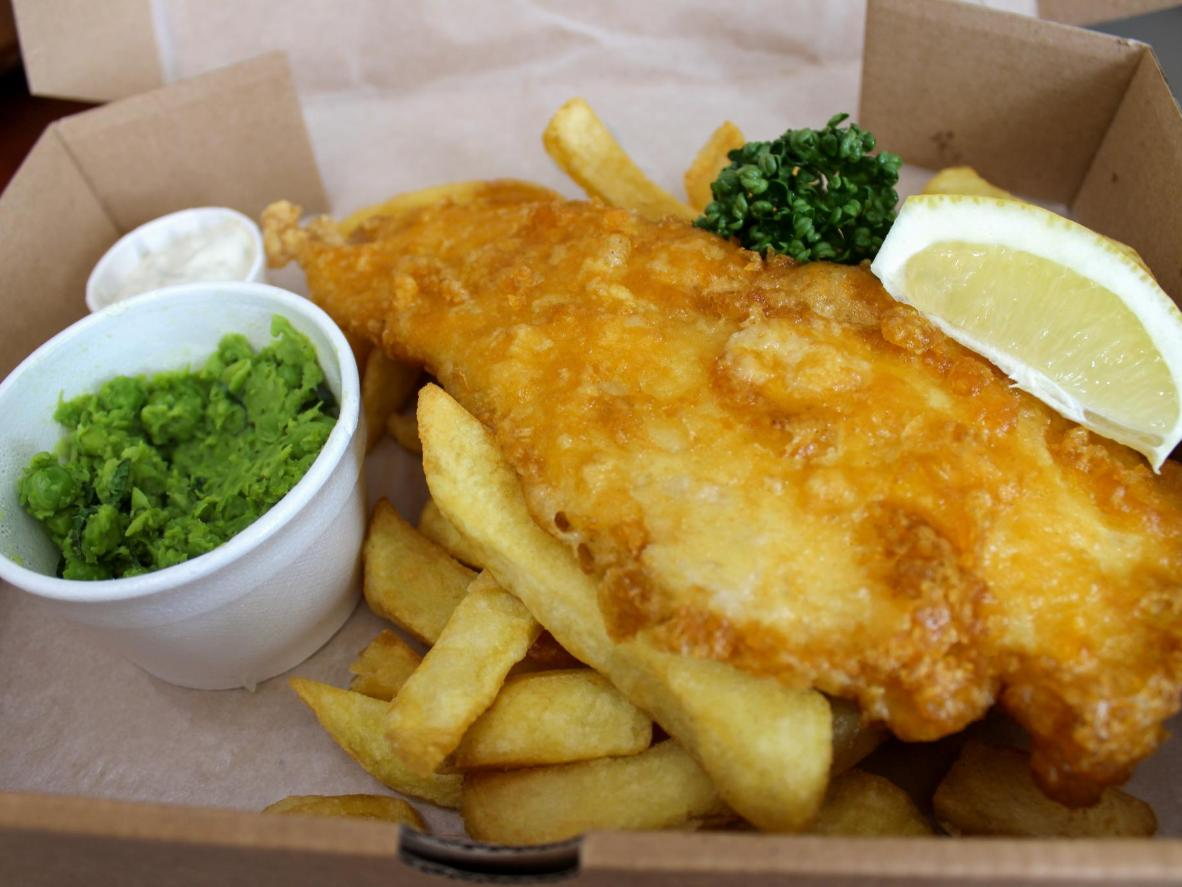 Grimsby, the northern port town in love with fish and chips
