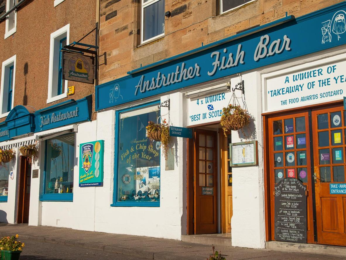 The British royal family's favourite fish and chip shop