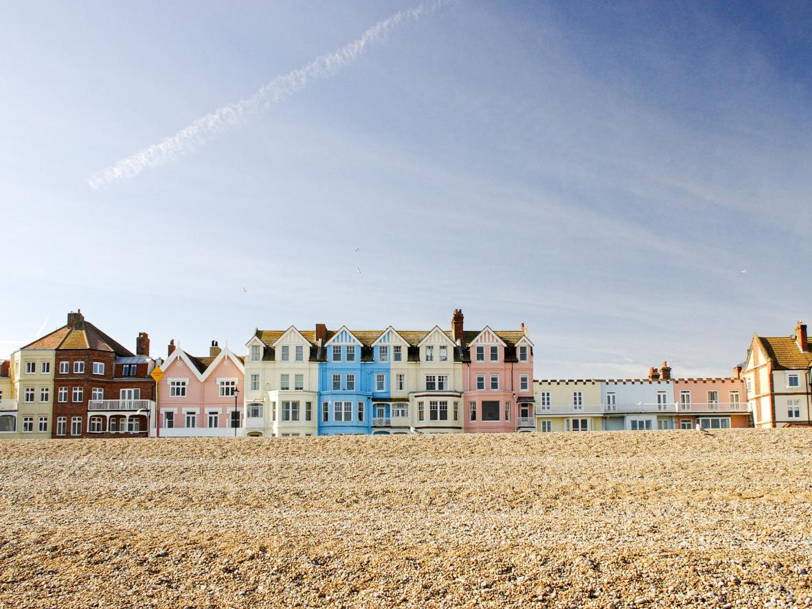 Aldeburgh is a favourite with celebrity chef, Rick Stein