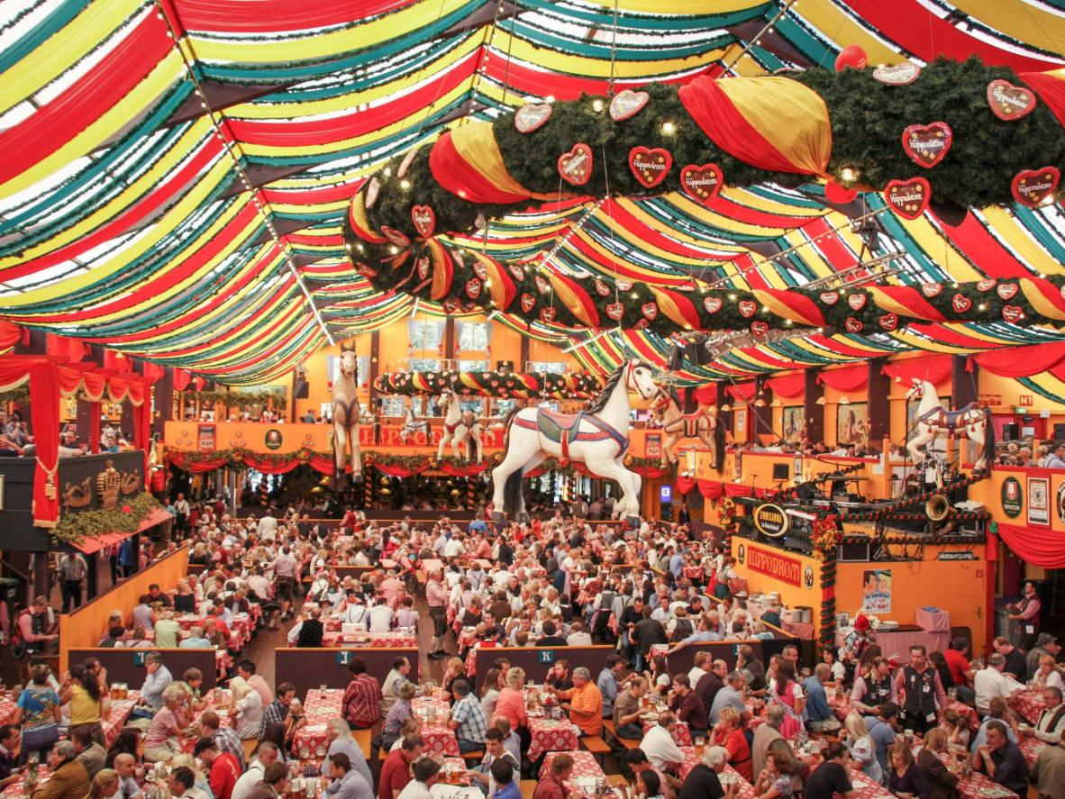 Oktoberfesti ajal serveeritakse enam kui 7 miljonit liitrit õlut