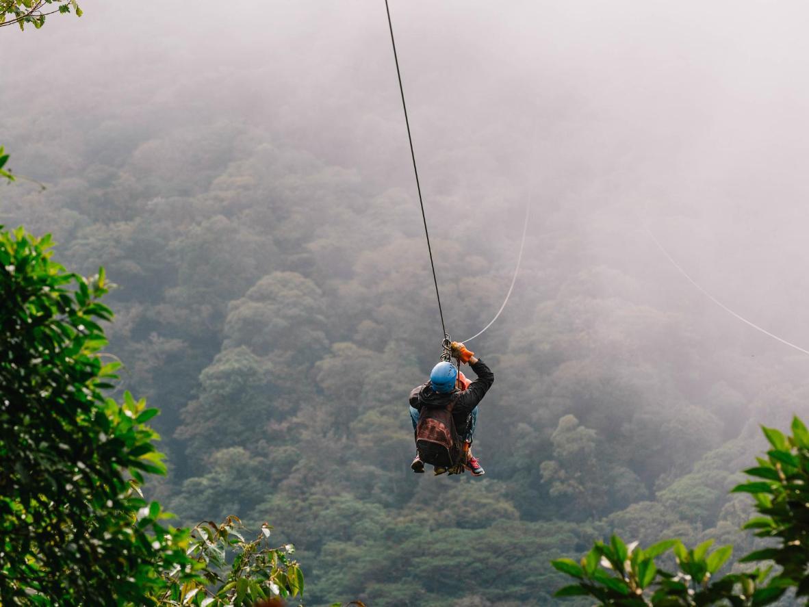 Image result for ziplining costa rica