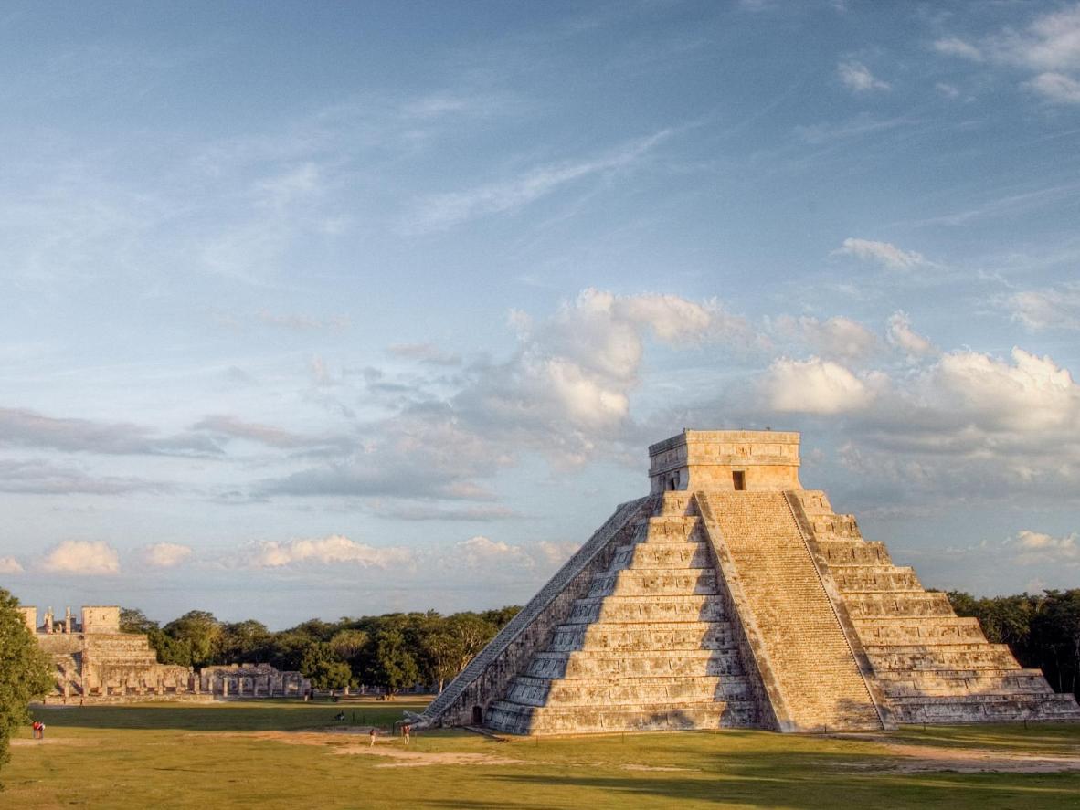 El Castillo, la pirámide más conocida de Chichén Itzá