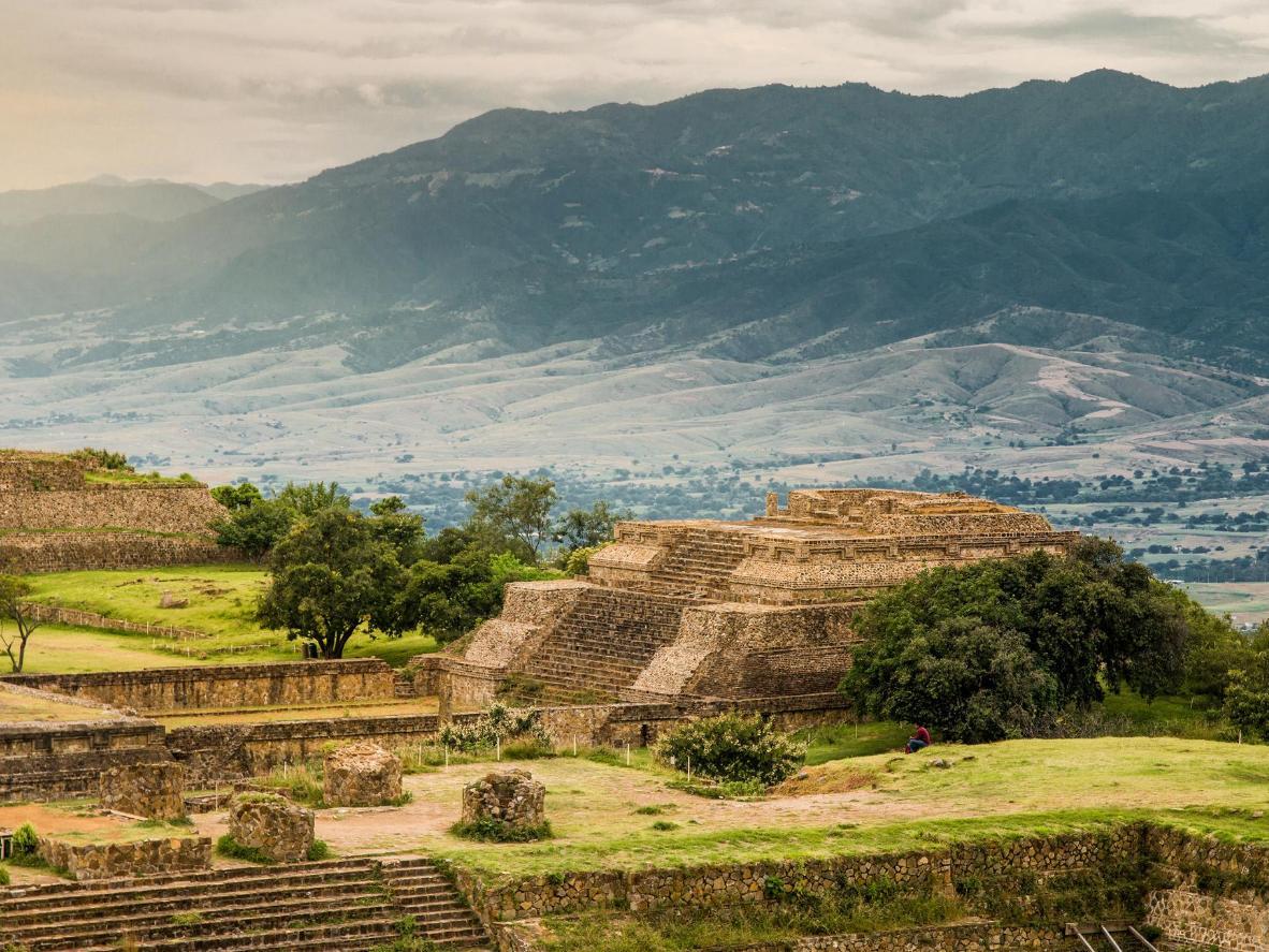 La ciudad de Monte Albán gobernaba los valles centrales de Oaxaca