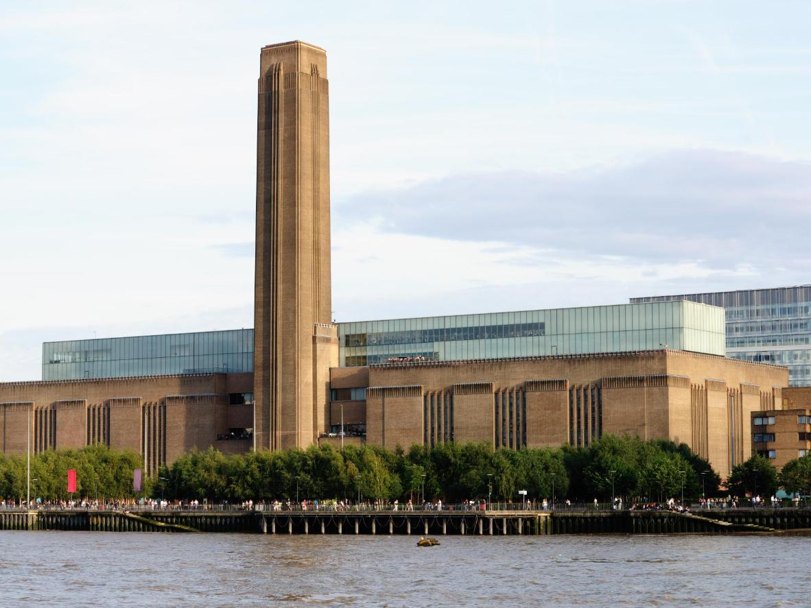 Spend a few hours wandering around Tate Modern, then visit the Southbank Rooftop Garden