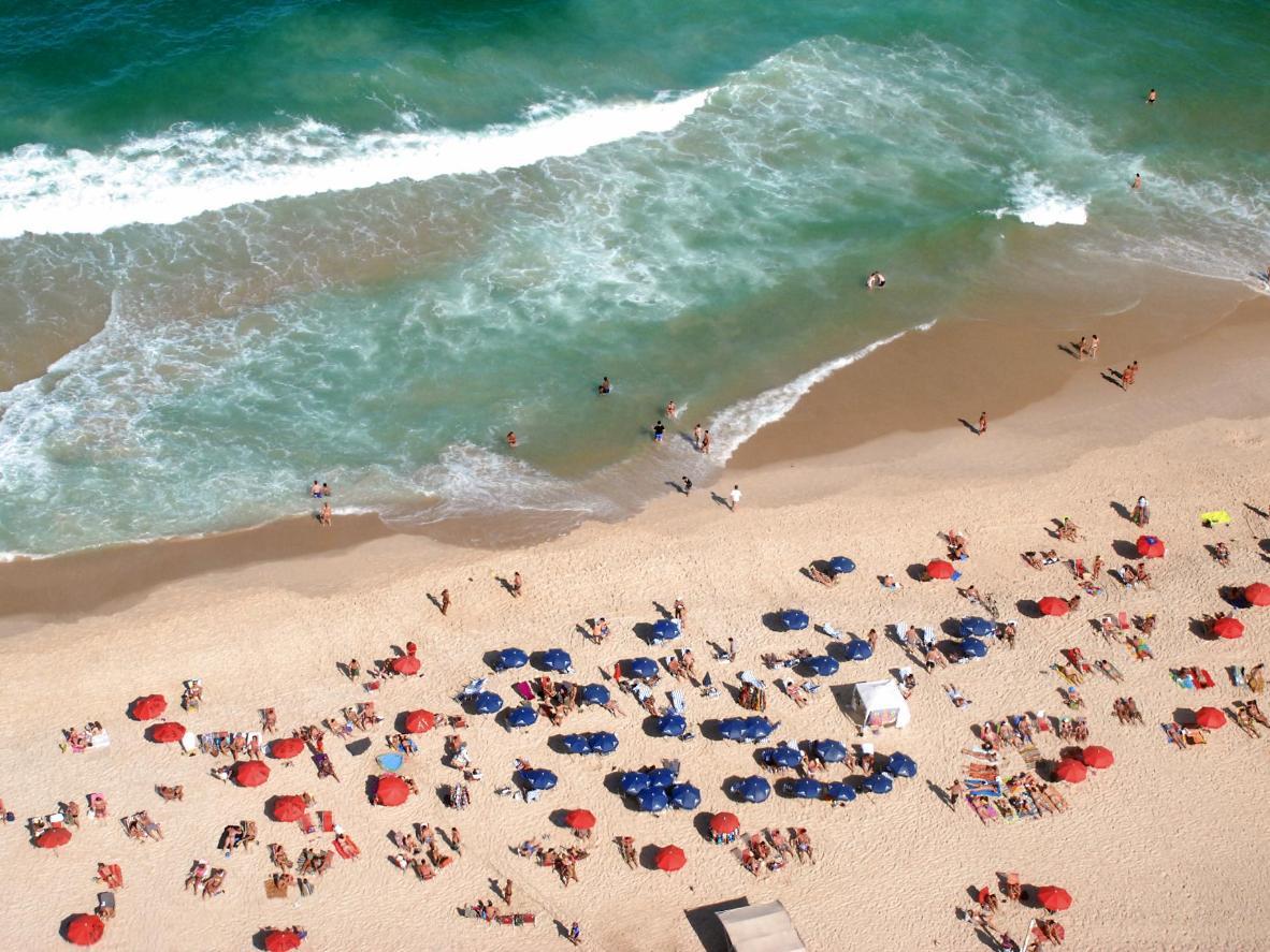 Praia do Leblon Brasiilias