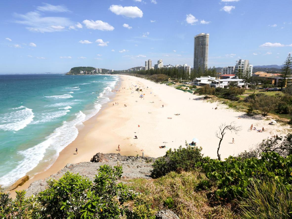 North Burleigh Beach Queenslandis, Austraalias