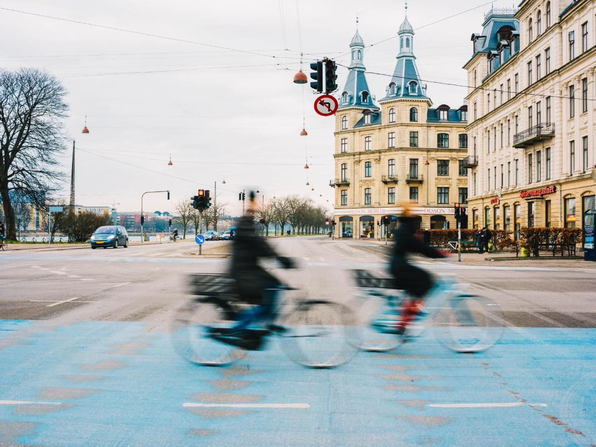 Copenhagen has one of the world's most cycle-friendly infrastructures