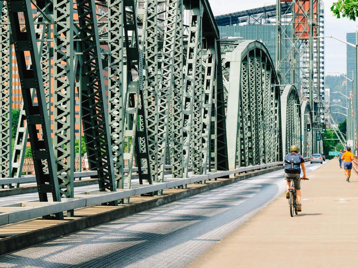 Portland is often claimed to be the most bike-friendly city in the USA