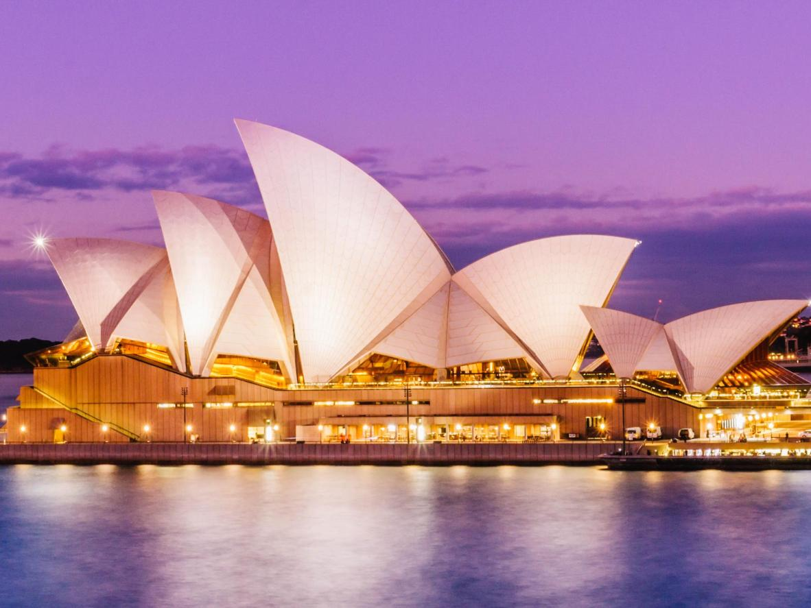 Sydney Opera House is a phenomenal venue for seeing a musical
