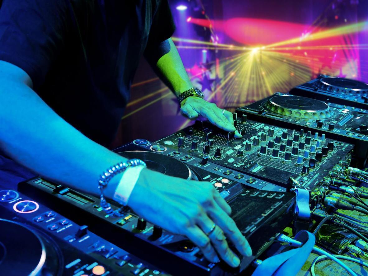 Go clubbing beneath the clear night sky