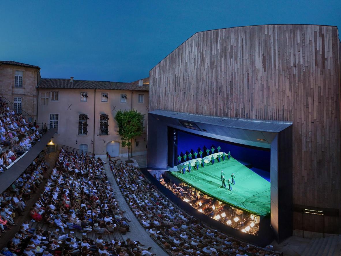 Festival Lyrique d'Aix-en-Provence photographed by Vincent Pontet