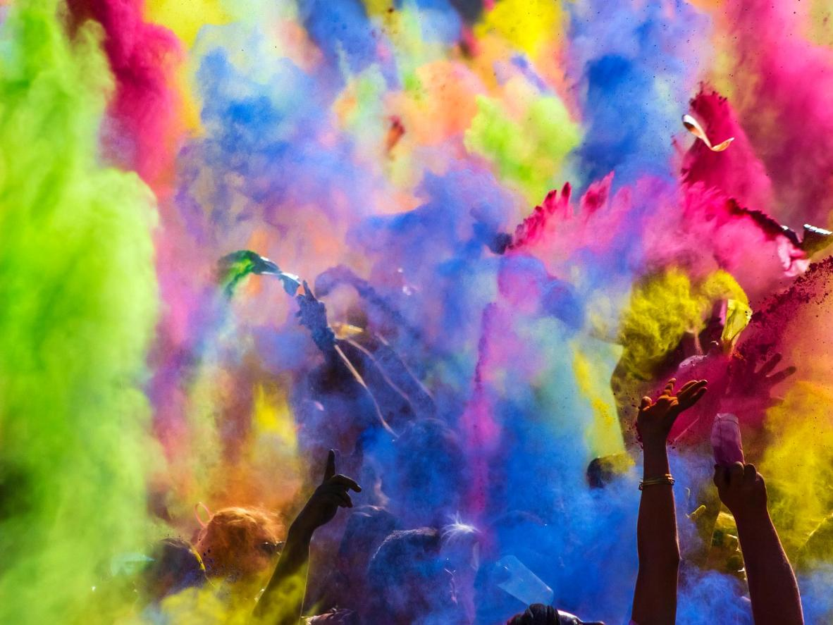 The top 6 places to celebrate Holi outside India | Booking.com