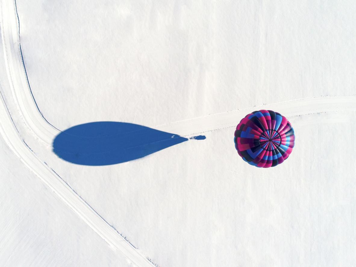 Expedições de balão dão a você uma visão única do ártico canadense