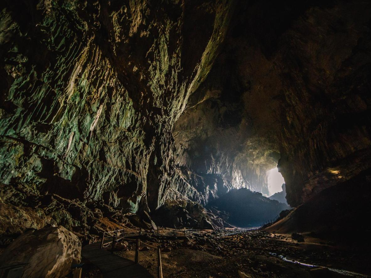 Külasta Gua Rusat, et näha enam kui 3 miljonit nahkhiirt, kes siin varjuvad