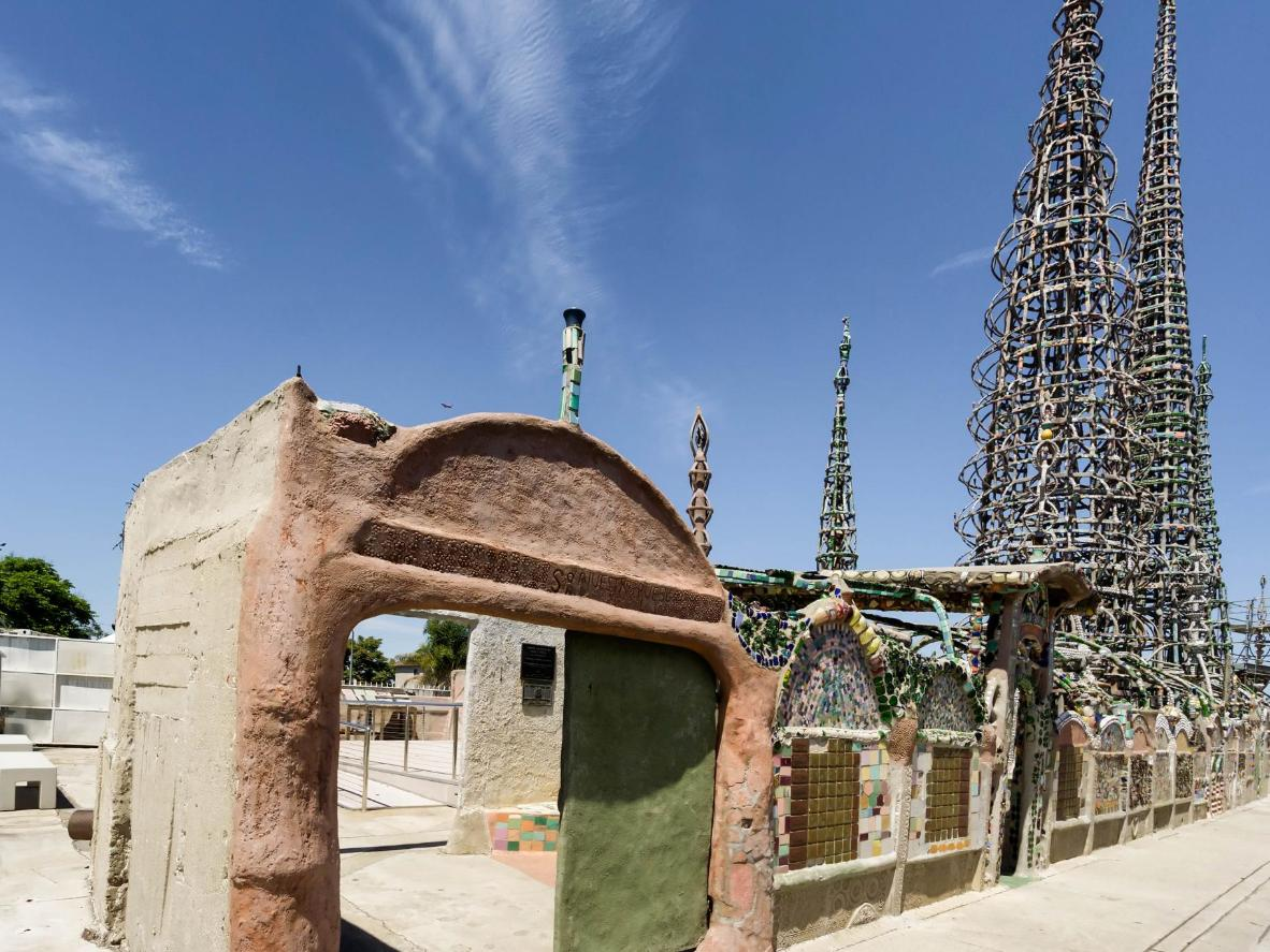 See the Watts Towers by Simon Rodia